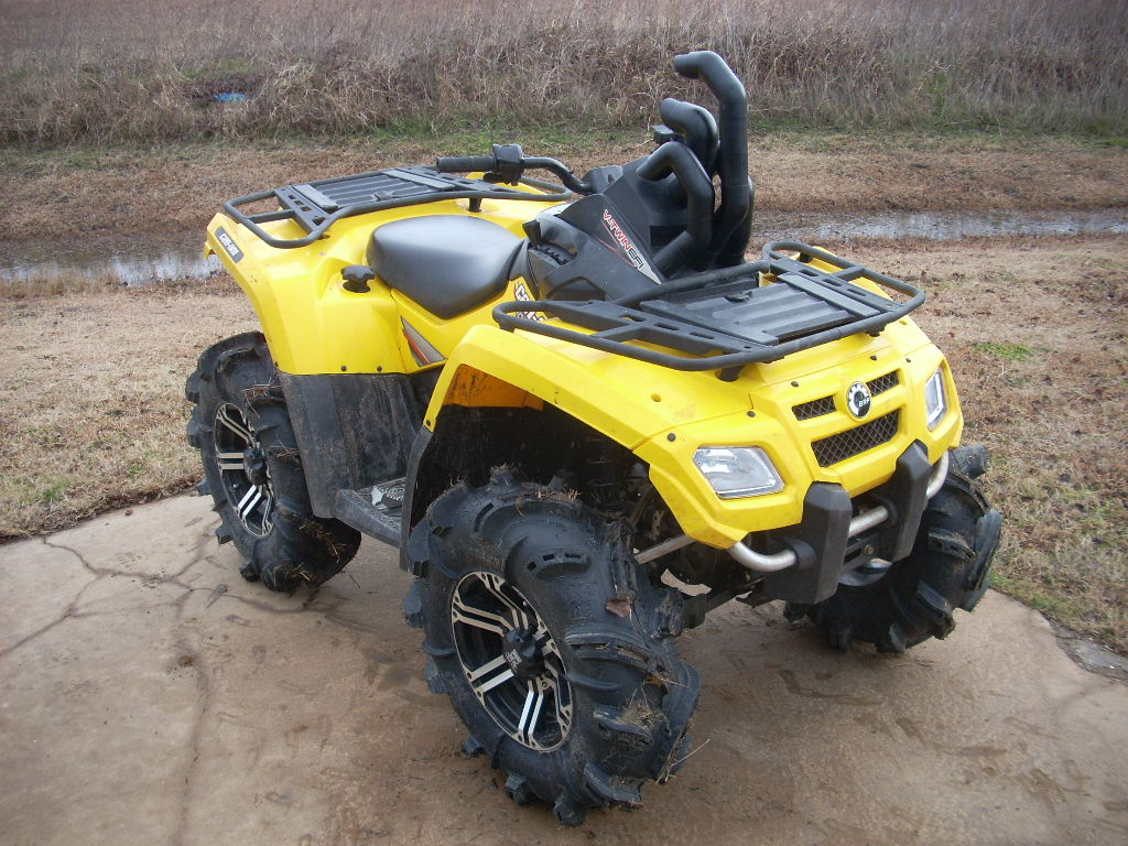 CAN AM OUTLANDER RACE SNORKEL KIT 500/650/800/800R-MAX-XT-XXC-AND POWER  STEERING MODELS
